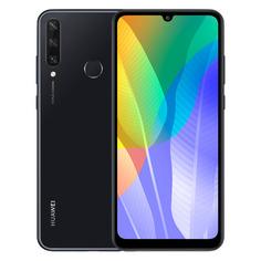 Смартфон HUAWEI Y6P 64Gb, черный