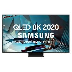 """Телевизор Samsung QE75Q800TAUXRU, 75"""", QLED, Ultra HD 8K"""