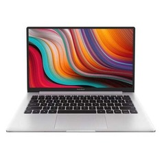 "Ноутбук XIAOMI Mi RedmiBook, 13.3"", IPS, Intel Core i5 10210U 1.6ГГц, 8ГБ, 512ГБ SSD, nVidia GeForce MX250 - 2048 Мб, Windows 10 trial (для ознакомления) Home, XMA1903-AN, серебристый"