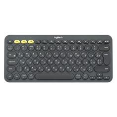 Клавиатура LOGITECH K380 Multi-Device, USB, беспроводная, белый [920-009589]
