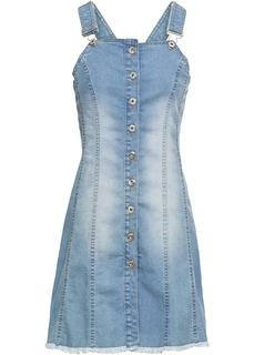 Короткие платья Сарафан джинсовый Bonprix