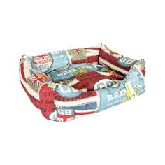 Лежак для собак Винтаж PRIDE Британия 70х60 см
