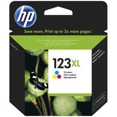 Картридж HP High Yield 123XL Tri-colour