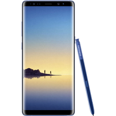 Смартфон Samsung Galaxy Note8 64 ГБ синий сапфир (SM-N950FZBDSER)