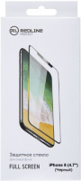 Защитное стекло Red Line для iPhone 8 Black (УТ000012640)