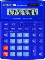 Калькулятор Staff STF-888-12-BU (250455)