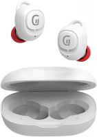 Беспроводные наушники с микрофоном Groher EarPods i50 White/Red