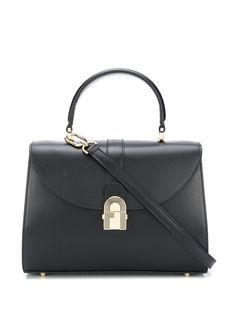 Furla сумка-тоут с металлическим логотипом
