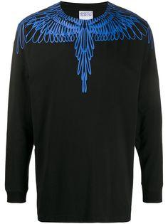 MARCELO BURLON COUNTY OF MILAN толстовка Wings с длинными рукавами