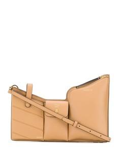 Fendi поясная сумка с тремя карманами