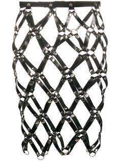 Manokhi сетчатая юбка мини