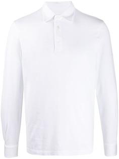 Fedeli рубашка поло с длинными рукавами