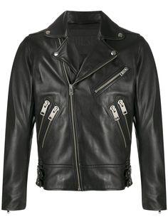 Diesel байкерская куртка с карманами