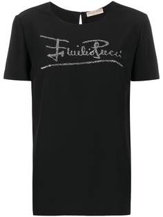 Emilio Pucci футболка с логотипом