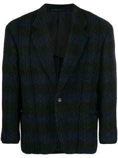 Comme Des Garçons Pre-Owned куртка в полоску 1980-х годов