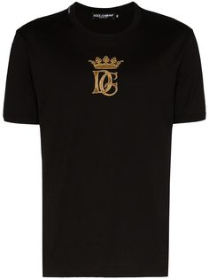 Dolce & Gabbana футболка с вышивкой