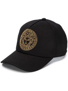Versace бейсболка с декором Medusa