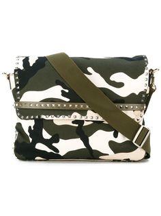 Valentino Garavani сумка-почтальонка с заклепками