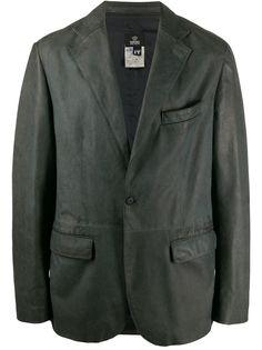 Versace Pre-Owned пиджак 1990-х годов с заостренными лацканами