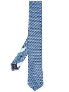 Ermenegildo Zegna галстук с геометричным узором