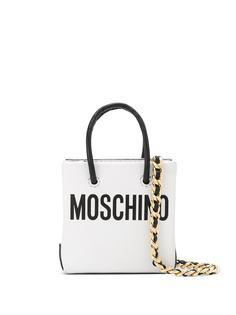 Moschino мини-сумка через плечо с логотипом