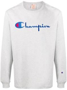 Champion толстовка с вышитым логотипом