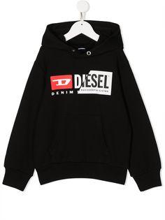 Diesel Kids худи с длинными рукавами и логотипом