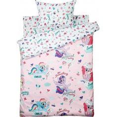 Комплект постельного белья детский My Little Pony «Pony Pink» полутораспальный бязь цвет розовый