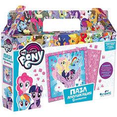 Пазл My little Pony Звезды, 9 элементов, с аппликацией Origami