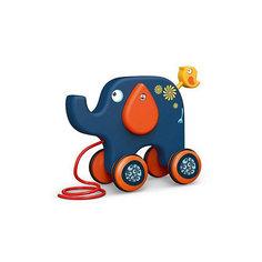 Игрушка-каталка Наша Игрушка Слон, 22х18 см