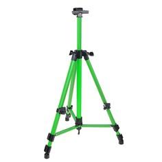 Мольберт телескопический, тренога, металлический, зелёный, размер 51-153 см Calligrata