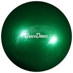 Мяч для художественной гимнастики 18,5 см, 400 г, цвет изумрудный Grace Dance