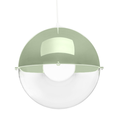 Лампа подвесная orion (koziol) зеленый 30x30x30 см.