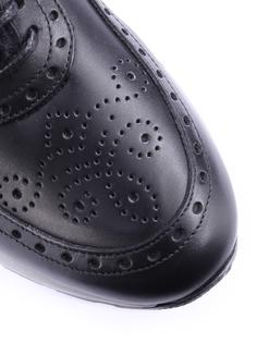 Кожаные кроссовки с мехом 52499-01/W Florsheim