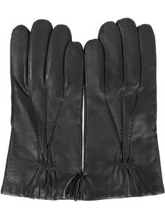 Кожаные перчатки GU0056/001/черный Orciani