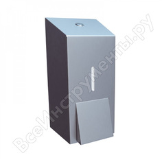 Дозатор жидкого мыла merida металлический stella classic mini dem102.l