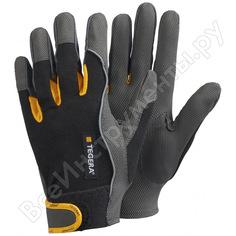 Перчатки рабочие из искусственной кожи, без подкладки tegera 9120