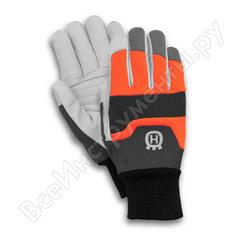 Перчатки husqvarna functional с защитой от порезов бензопилой, р.10 5950039-10