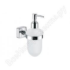 Дозатор жидкого мыла fixsen kvadro 61312
