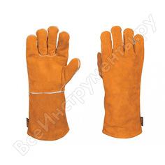 Перчатки сварщика truper gu-sol 15246