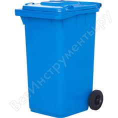 Мусорный контейнер тара 240л, синий 08542