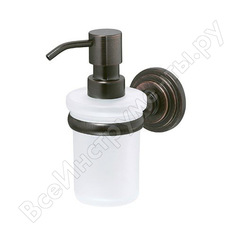 Дозатор для жидкого мыла wasserkraft isar 150 ml k-7399