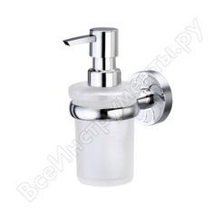 Стеклянный дозатор для жидкого мыла wasserkraft isen 170 ml k-4099