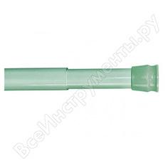 Карниз для ванной комнаты milardo 110-200 см, зелёный, 012a200m14