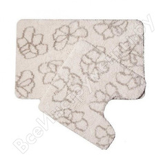 Набор ковриков для ванной комнаты iddis 50*80+50*50 см, blessed spring 490m580i13