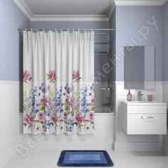Штора для ванной комнаты iddis, 180*180см, peva, p06pv11i11