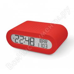 Настольные часы с fm-радио oregon scientific красные rrm116-r
