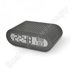 Настольные часы с fm-радио oregon scientific серые rrm116-g