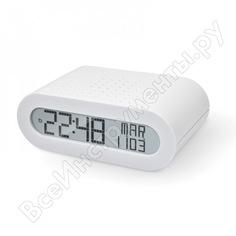 Настольные часы с fm-радио oregon scientific белые rrm116-w