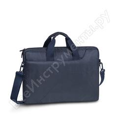 """Сумка для ноутбука и документов rivacase laptop shoulder bag dark blue 15.6"""" 8035"""